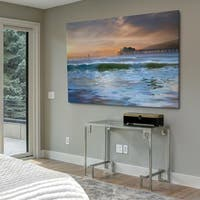 The Pier - Gallery Wrapped Canvas