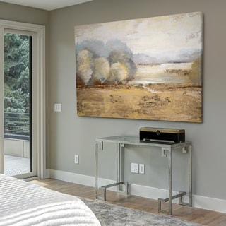 Misty Golden Morning - Gallery Wrapped Canvas