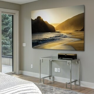 Sunset At Big Sur - Gallery Wrapped Canvas