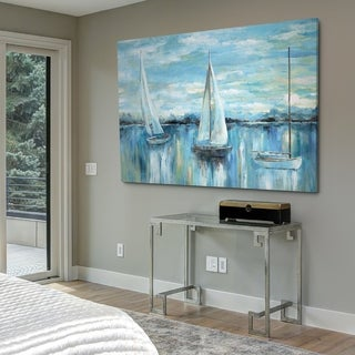 Evening on the Bay - Gallery Wrapped Canvas