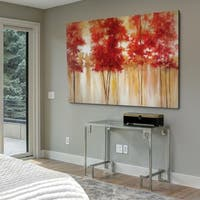 Red Trees - Gallery Wrapped Canvas