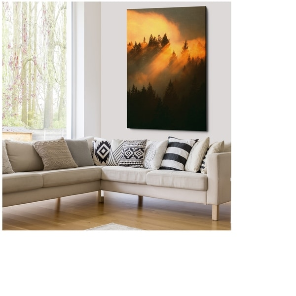Morning Amber - Gallery Wrapped Canvas