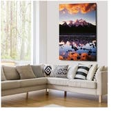 Snake River Reflection - Gallery Wrapped Canvas
