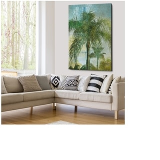 Contemporary Palm - Gallery Wrapped Canvas
