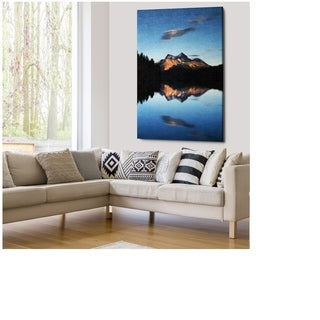 Jasper Mountains - Gallery Wrapped Canvas