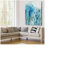 Abstract Lapis - Gallery Wrapped Canvas