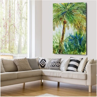 Vintage Palm - Gallery Wrapped Canvas