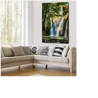 La Cascade - Gallery Wrapped Canvas