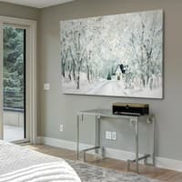 Christmas Lane - Gallery Wrapped Canvas