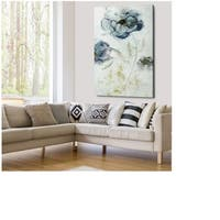 Morning Peony - Gallery Wrapped Canvas