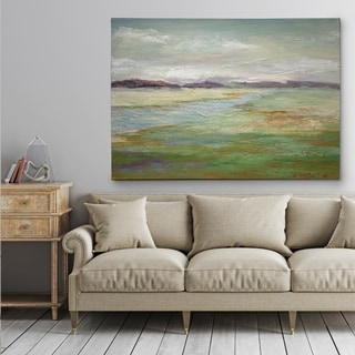 Meadow Stream II - Gallery Wrapped Canvas