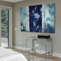 Indigo Montage - Gallery Wrapped Canvas
