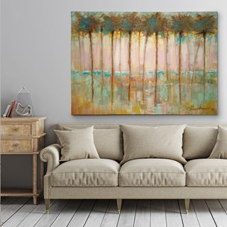 Palms at Dusk - Gallery Wrapped Canvas