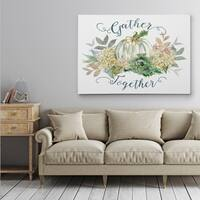 End of Summer Gather - Gallery Wrapped Canvas