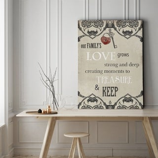 Love - Gallery Wrapped Canvas