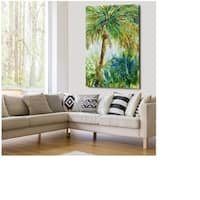 Sketching in Spring - Gallery Wrapped Canvas