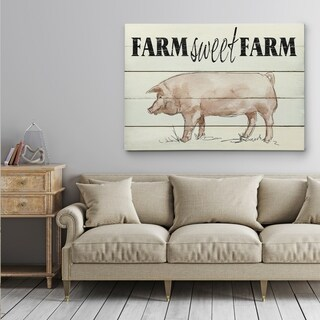Farm Sweet Farm - Gallery Wrapped Canvas