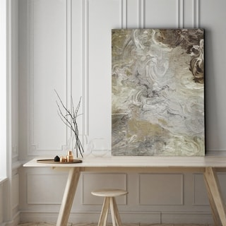 Marbled Linen - Gallery Wrapped Canvas