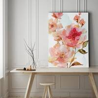 Vivid Roses - Gallery Wrapped Canvas