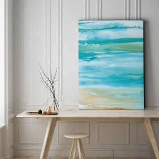 Coastal Abstract II - Gallery Wrapped Canvas