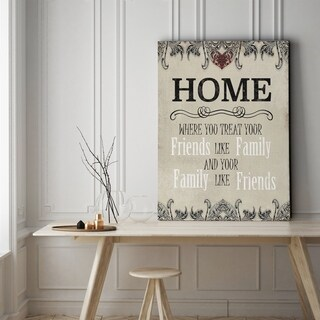 Home - Gallery Wrapped Canvas