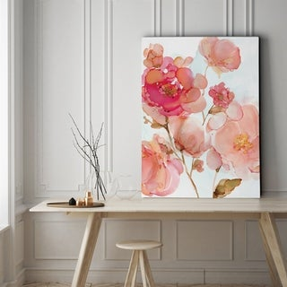 Vivid Peonies - Gallery Wrapped Canvas