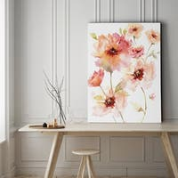 Translucent Reds I - Gallery Wrapped Canvas