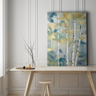 Gilded Forest Detail II - Gallery Wrapped Canvas