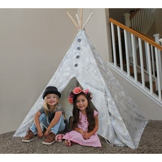 Geometric Boho Chic Kids TeePee|https://ak1.ostkcdn.com/images/products/17990553/P24163686.jpg?impolicy=medium