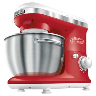 Sencor Stand Mixer, Solid Red