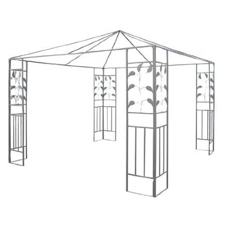 Steel Gazebo Frame Leaf Design