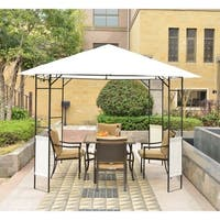 Outsunny Modern 10' x 10' Outdoor Gazebo Canopy Cover