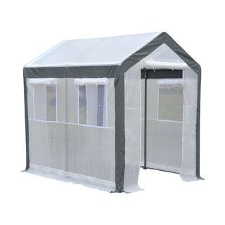 Outsunny 8 ft x 6 ft x 7 ft Heavy Duty Walk In Greenhouse