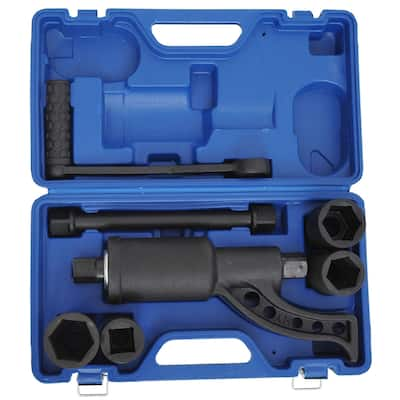 HomCom Heavy Duty Torque Multiplier Socket Lugnut Remover Wrench