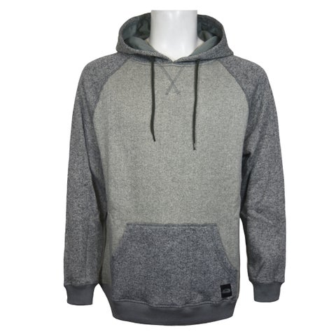 Men's Heather Knit Fleece Pullover Hoodie