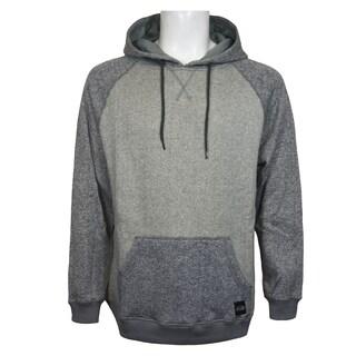 Men's Heather Knit Fleece Pullover Hoodie