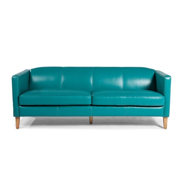 Lazzaro Leather Miami Sofa