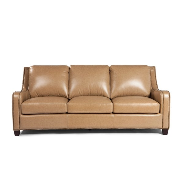 Beau Lazzaro Leather Denver Sofa