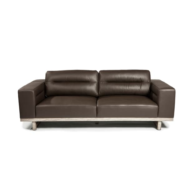Lazzaro Leather Cooper Sofa Free Shipping Today 17993066