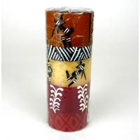 Tall Hand Painted Pilar - Damsi  Design