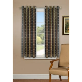 Versailles' Bamboo Wood Curtain Panel With Grommets (42in x 63in)