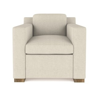 Bryant Linen Chair Extra Deep - Custom Made to Order TAG by Tandem Arbor