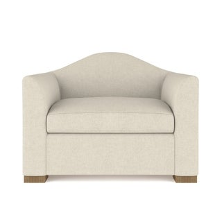 Claremont Linen Chair - Custom Made to Order TAG by Tandem Arbor