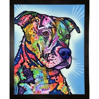 "Deacon Framed Print 19.75""x15.5"" by Dean Russo"