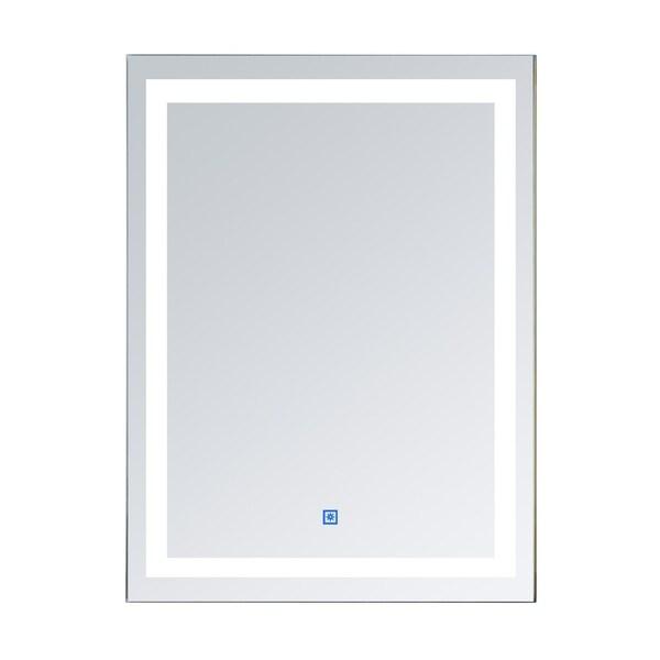 Shop Homcom Vertical 32 In Led Illuminated Bathroom Wall