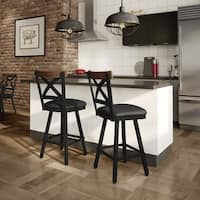 Carbon Loft Prescoft Swivel Metal Stool