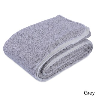 Berkshire Blanket Reversible Sherpa Sweater Knit Blanket