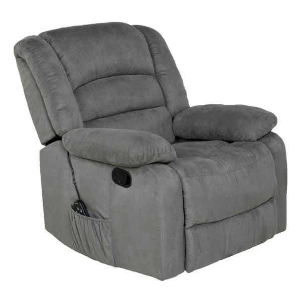 shop copper grove tynwald rocker recliner with heat massage and rh overstock com