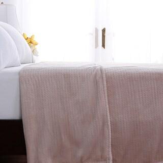 Berkshire Blanket VelvetLoft Waffle Weave Plush Blanket
