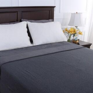 Berkshire Blanket French Terry Cotton Reversible Blanket